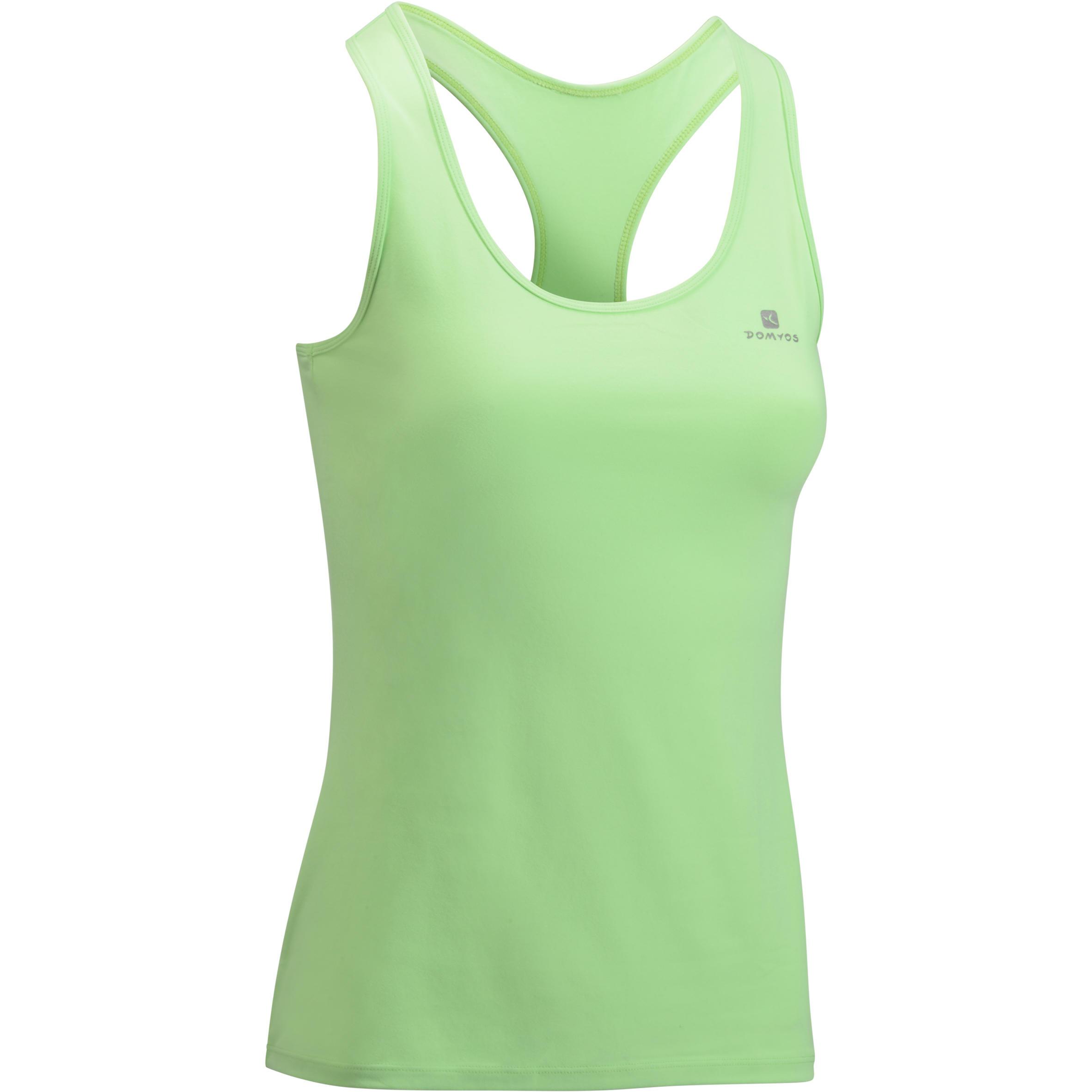 100 My Top Women's Cardio Fitness Tank Top - Mint Green