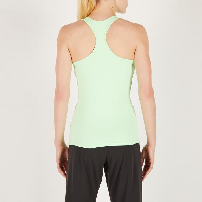 Fitness top My Top 100 voor dames, groen