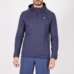 有氧健身運動衫 FSW500 - 海軍藍