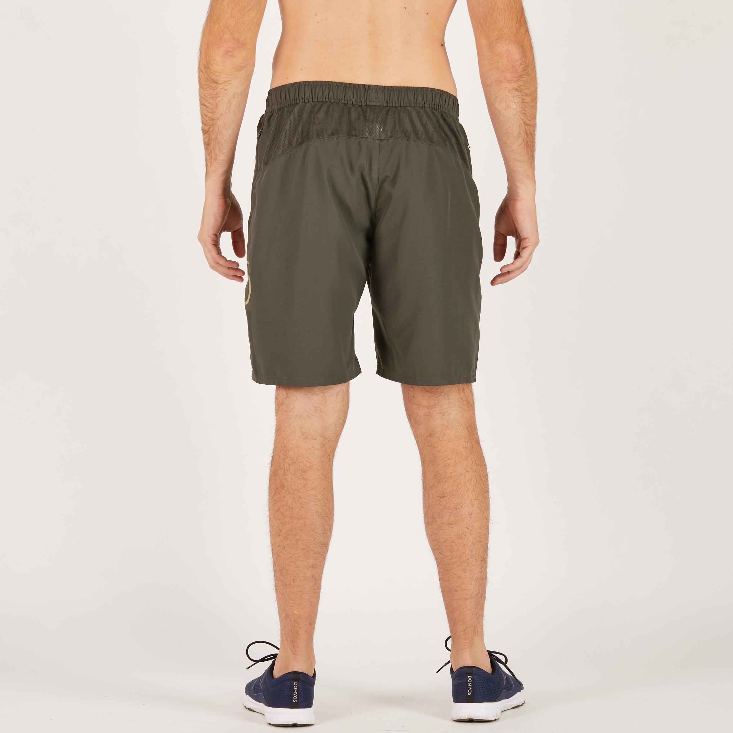 FST120 Fitness Cardio Shorts - Khaki