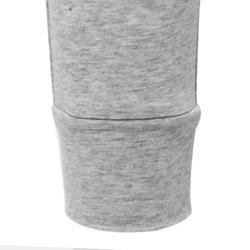 Pantalon léger Slim 100 fille GYM ENFANT gris clair