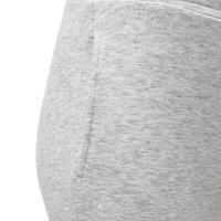 100 Light Slim Gym Bottoms - Light Grey - Girls'
