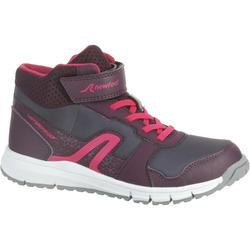 Zapatillas de Marcha Deportiva Newfeel Protect 580 niña violeta y rosa