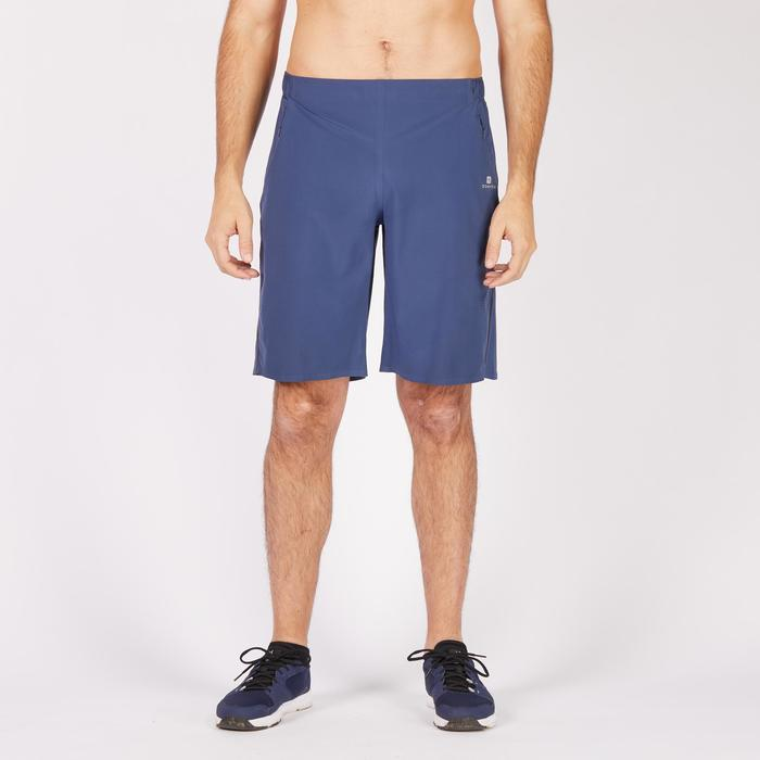 Short fitness cardio-training homme FST900 bleu gris