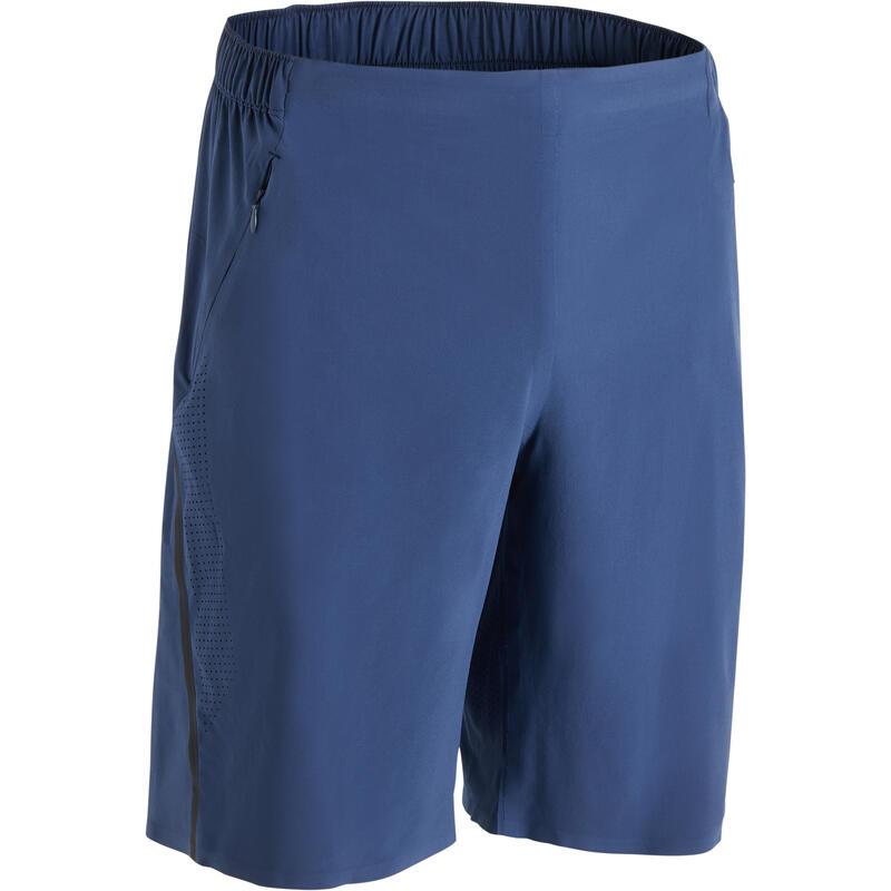 Short fitness cardio-training homme FST900 bleu gris