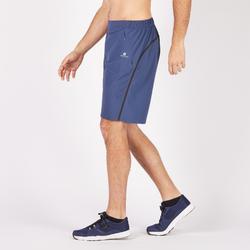 Short fitness cardio-training hombre FST900 azul gris