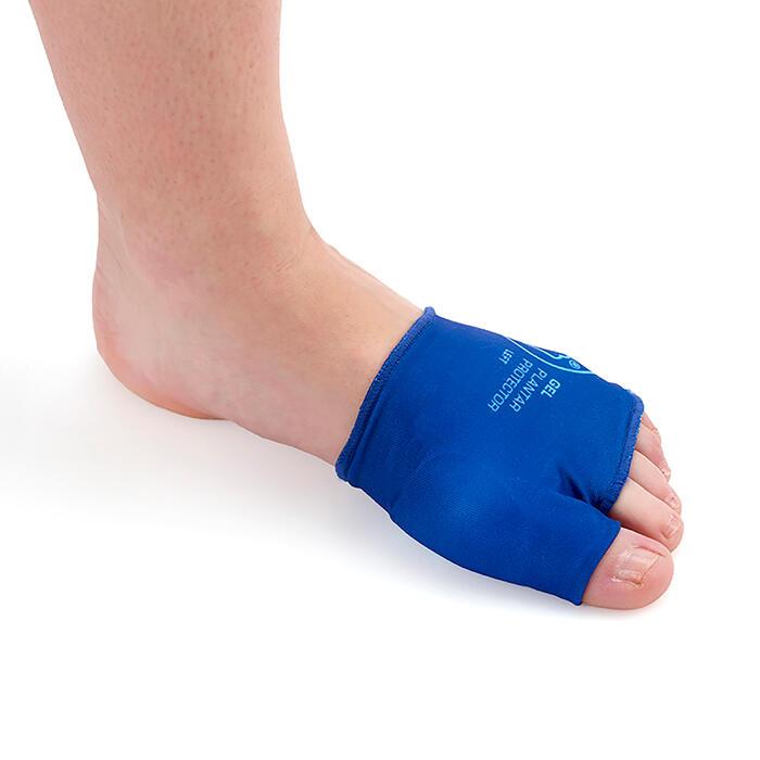 Gel-Einlage Fußschutz Vorfußbereich Sidas blau