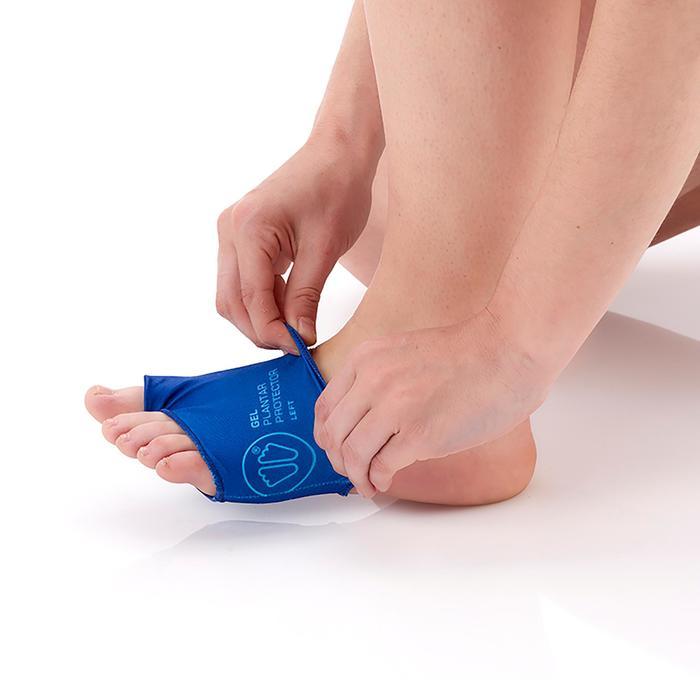 Gel-Fußschutz Sidas blau