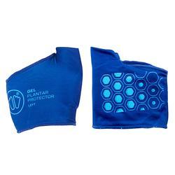 Protection gel plantaire SIDAS Bleu.
