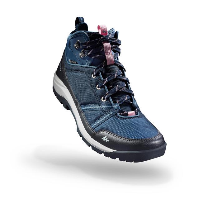 Chaussure de randonnée nature NH300 mid imperméable femme - 1274597