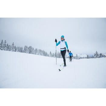 Sportmuts voor langlaufen turquoise