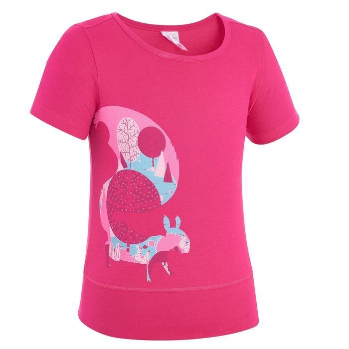 T-Shirt de randonnée enfant fille Hike 500 hibou - 1274698