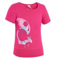 Wandel T-shirt voor meisjes Hike 500 uil