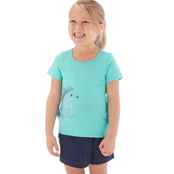 T-Shirt de randonnée enfant fille Hike 500 hibou - 1274723