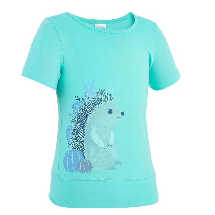 T-Shirt de randonnée enfant fille Hike 500 hibou - 1274739