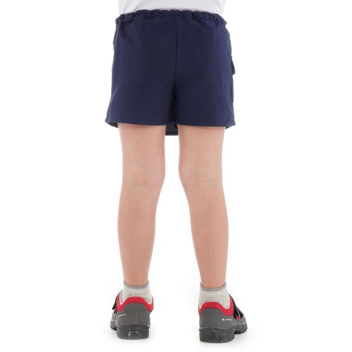 Jupe short de randonnée enfant MH100 bleue marine 2 A 6 ANS