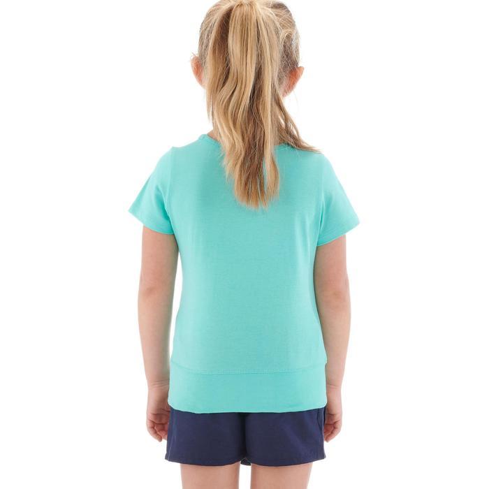 T-Shirt de randonnée enfant fille Hike 500 hibou - 1274771