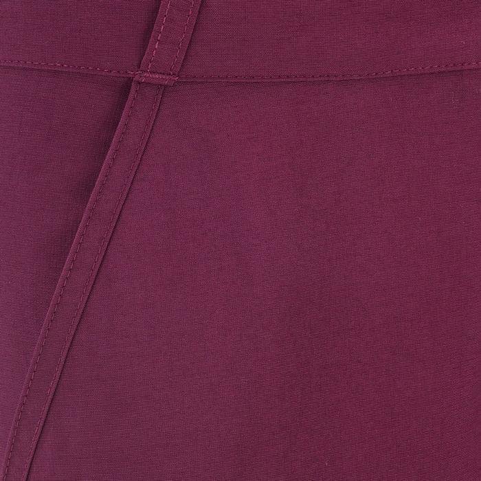 Pantalon de randonnée modulable enfant Hike 500 prune