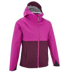 Veste de randonnée enfant MH500 violet