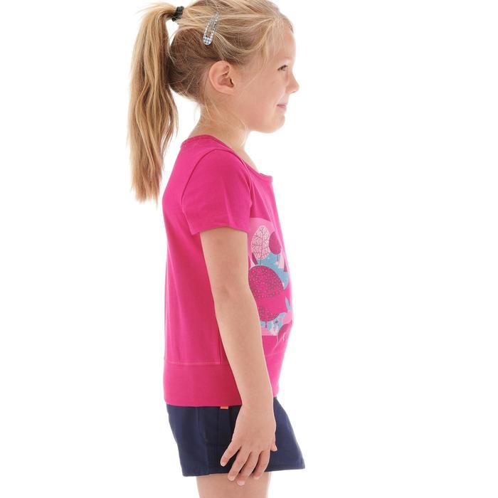 T-Shirt de randonnée enfant fille Hike 500 hibou - 1274778
