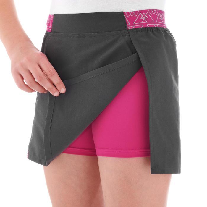Jupe short de randonnée fille Hike 100 - 1274815