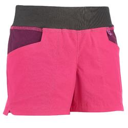 Hike 500 Girl's Hiking Shorts - Pink