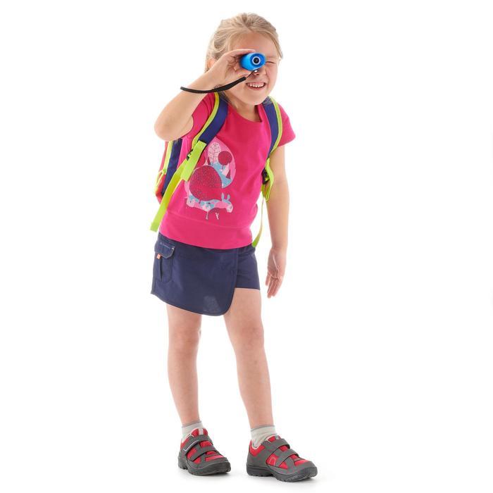 Shortrokje voor meisjes, voor wandelen, Hike 100 marineblauw