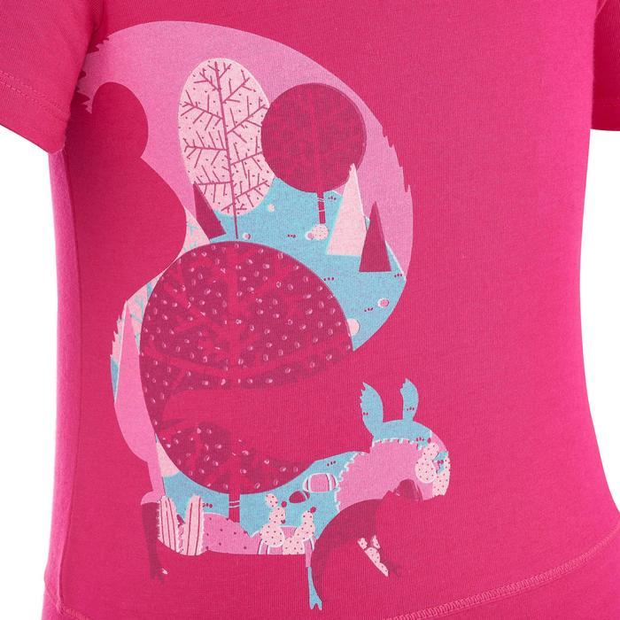 T-Shirt de randonnée enfant Hike 500 hibou - 1274867