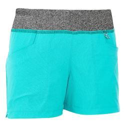 Hike 500 Children's Hiking Shorts - Grey
