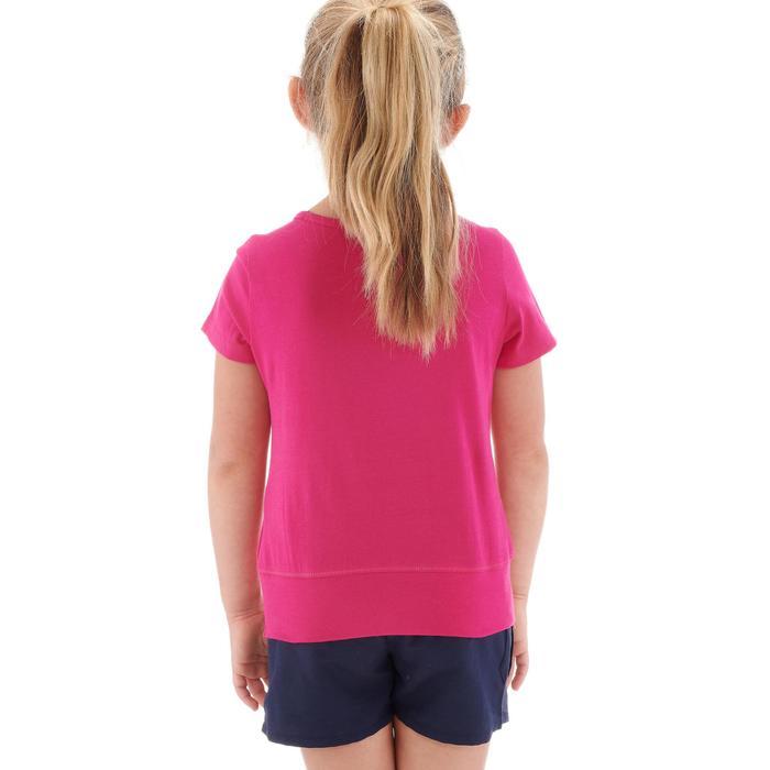 T-Shirt de randonnée enfant fille Hike 500 hibou - 1274878