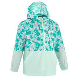 Helium Boy's Windbreaker Hiking Jacket - Blue green
