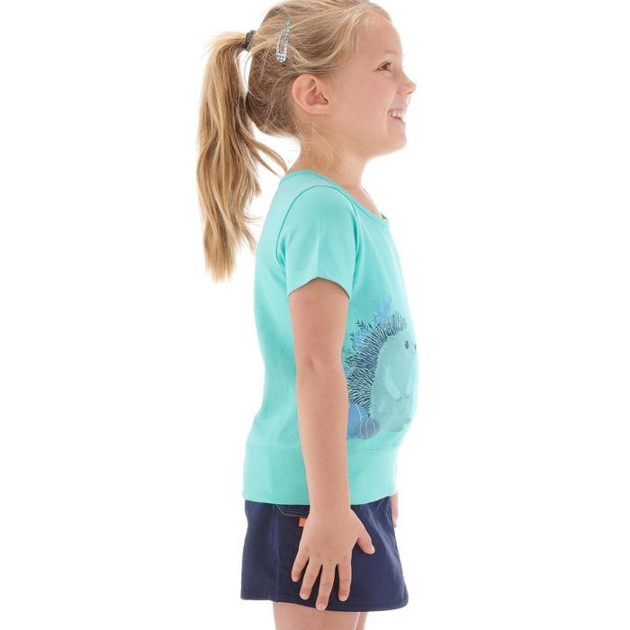 T-Shirt de randonnée enfant fille Hike 500 hibou - 1274906