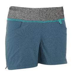 Pantalón corto Short de montaña niños 7-15 años MH500 Gris oscuro