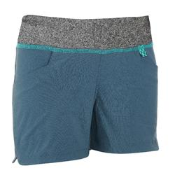 Hike 500 Children's Hiking Shorts - Grey