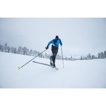 Collant ski de fond coupe vent homme noir - 1274941