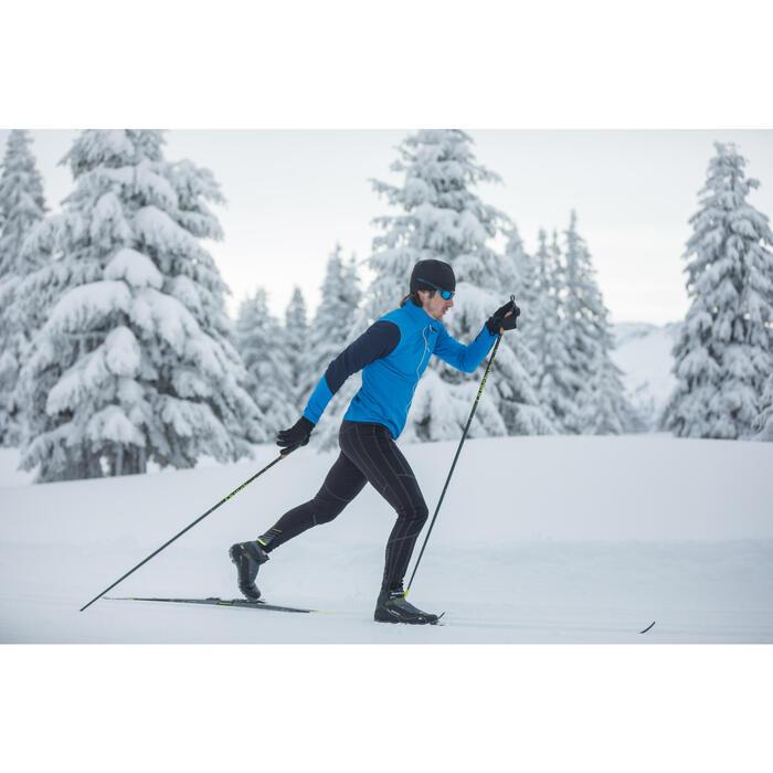 Collant ski de fond coupe vent homme noir - 1274942