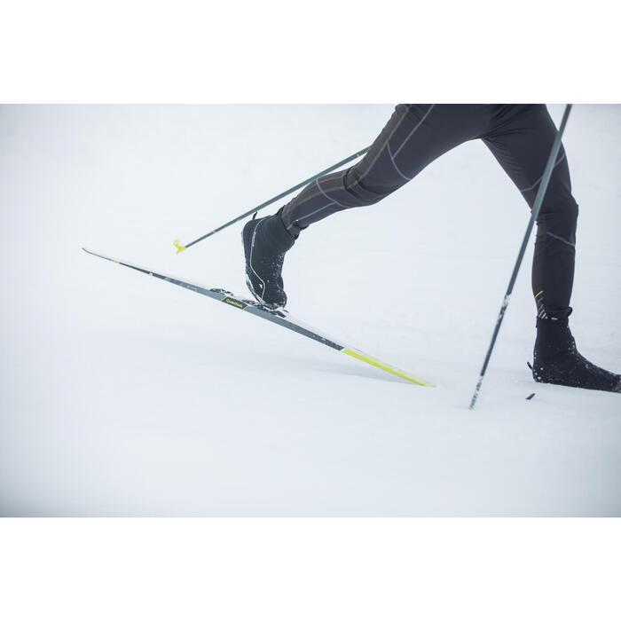 Collant ski de fond coupe vent homme noir - 1274945