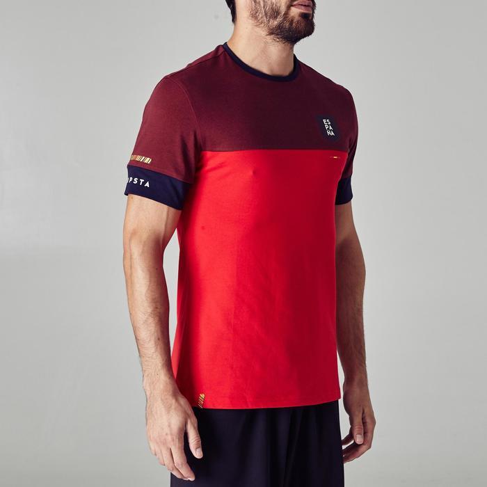 T-shirt de football adulte FF100 Espagne - 1274986