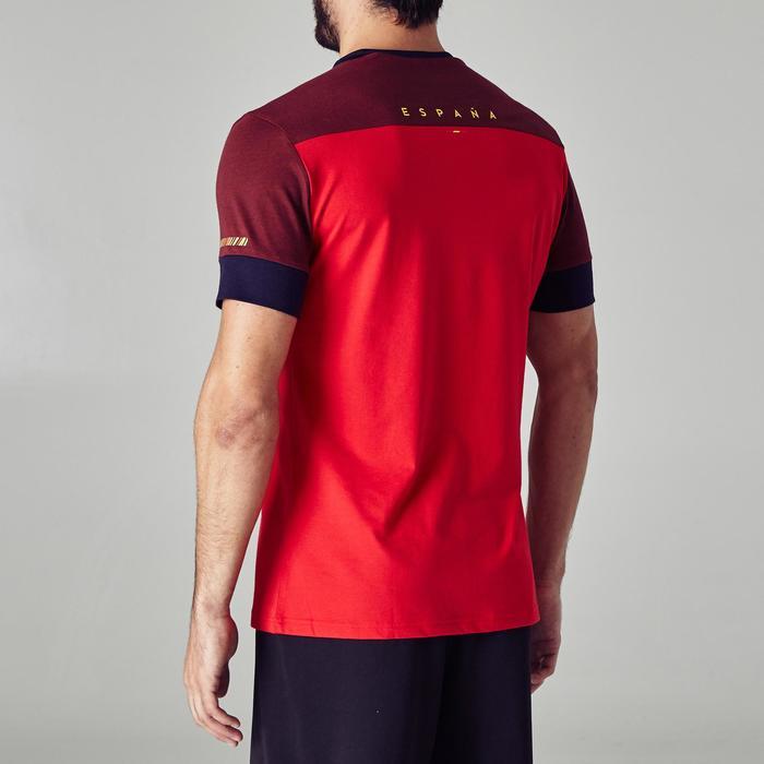 T-shirt de football adulte FF100 Espagne - 1274991