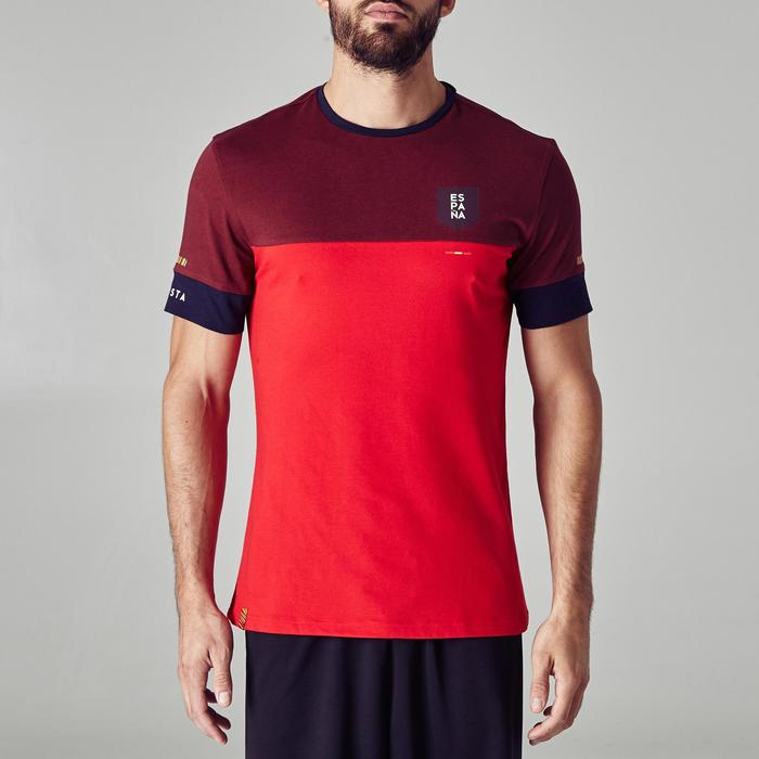 T-shirt de football adulte FF100 Espagne - 1274992