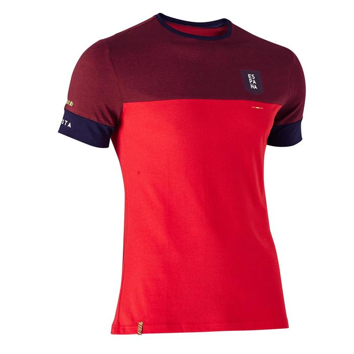 T-shirt de football adulte FF100 Espagne - 1274994