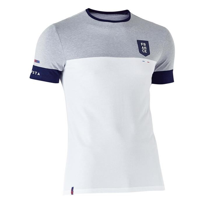 T-shirt de football adulte FF100 France - 1275006