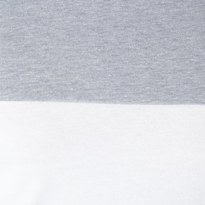Voetbaltruitje FF100 Frankrijk wit/gemêleerd grijs