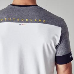 Fußballtrikot FF100 Deutschland Erwachsene weiß
