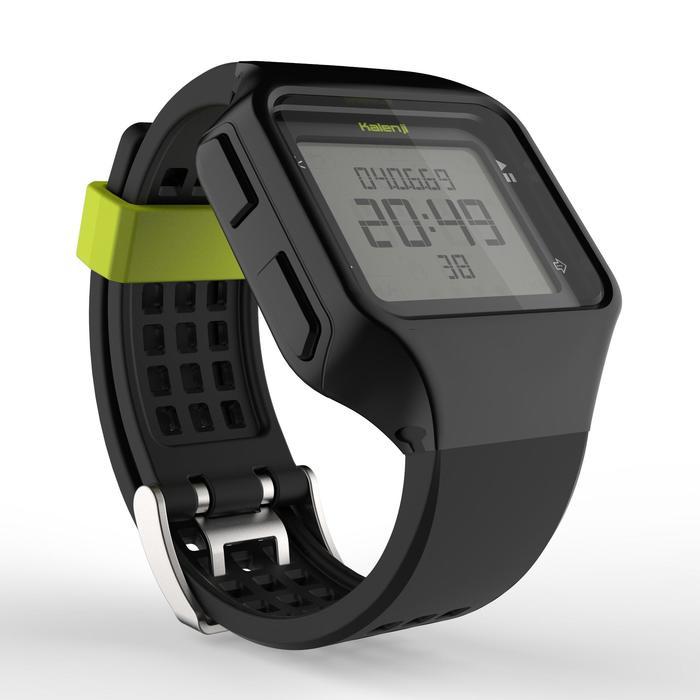 Montre chronomètre de course à pied homme W500+ M noire - 1275075