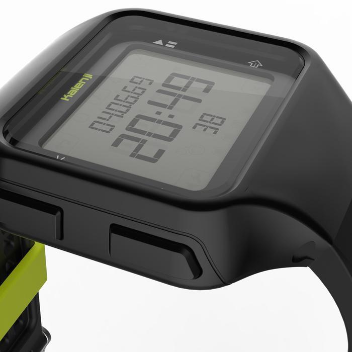 Montre chronomètre de course à pied homme W500+ M noire - 1275078