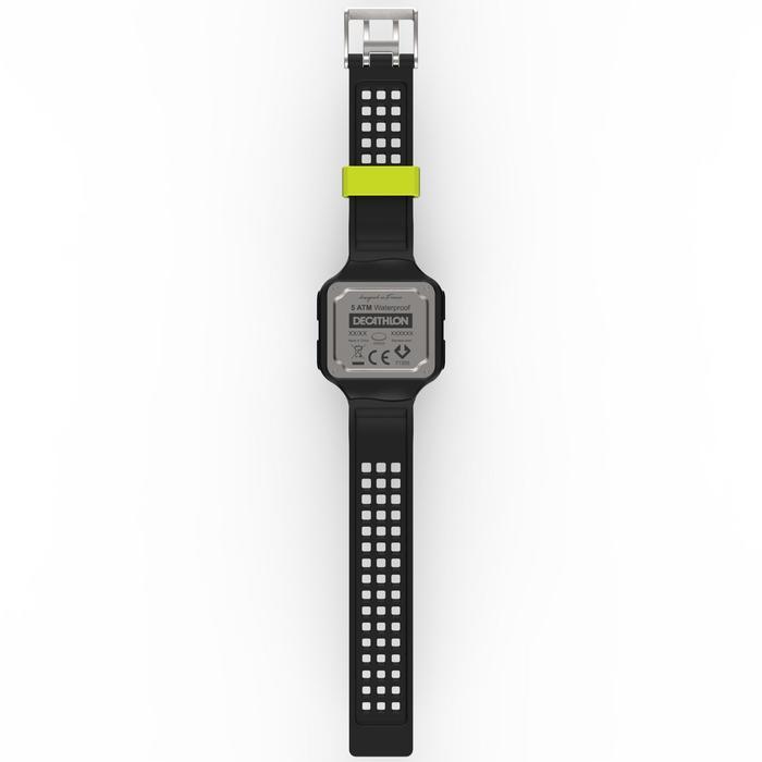 Montre chronomètre de course à pied homme W500+ M noire - 1275079