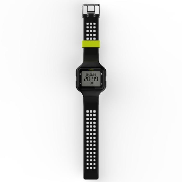 Montre chronomètre de course à pied homme W500+ M noire - 1275082