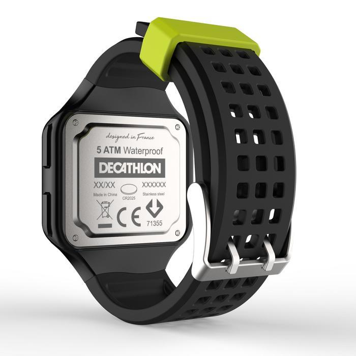 Reloj Cronómetro Running Kalenji W500+ M Hombre Negro/Amarillo