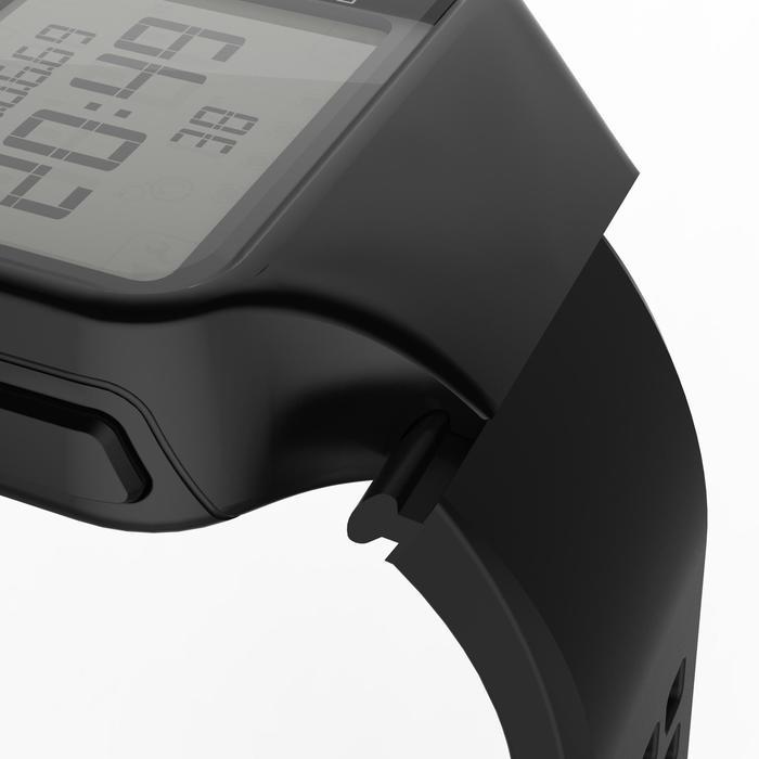 Montre chronomètre de course à pied homme W500+ M noire - 1275084